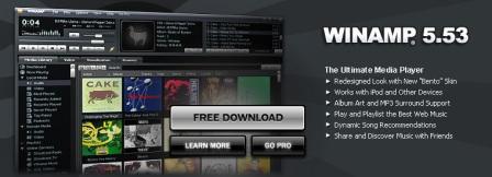 Скачать Winamp 5.531 Build